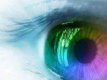 De que cor são os seus olhos?