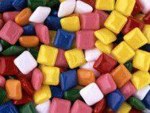 Que cores têm as chicletes?