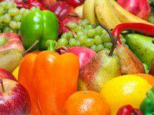 Come muitas frutas e vegetais?